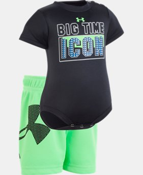 New to Outlet Boys' Newborn UA Big Time Icon Set  1  Color Available $21.99