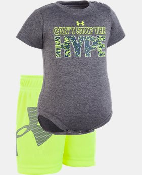 Boys' Newborn UA Can't Stop The Hype Set   1  Color Available $28