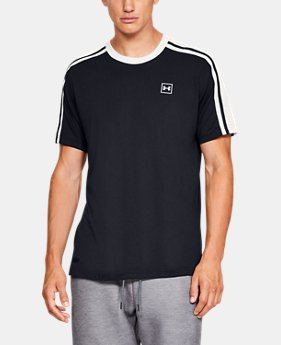 b707673b Men's UA Unstoppable Striped Short Sleeve T-Shirt 2 Colors Available $35
