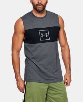 accf8b9f206873 Men s UA Sportstyle Cotton Mesh Tank 3 Colors Available  30