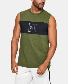 05cfe142c New to Outlet Men's UA Sportstyle Cotton Mesh Tank 3 Colors Available $22.99