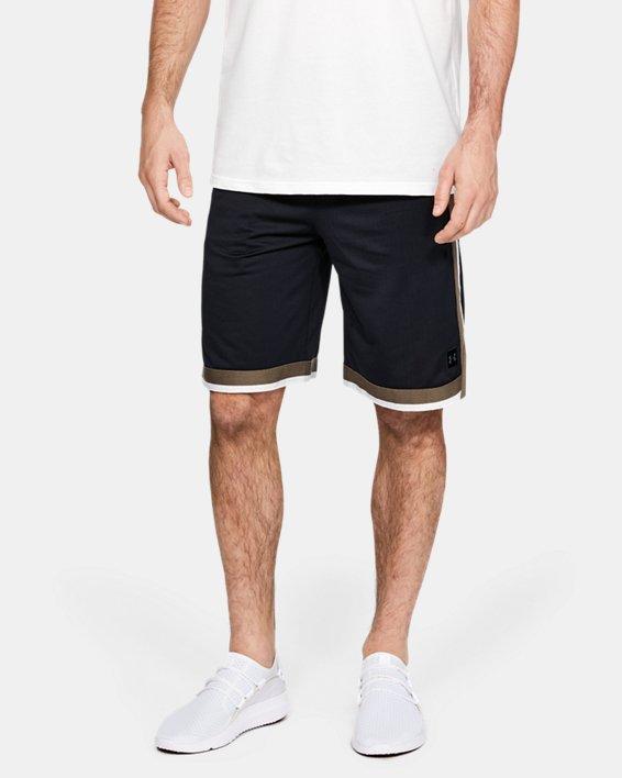 Short UA Sportstyle Mesh pour homme, Black, pdpMainDesktop image number 0