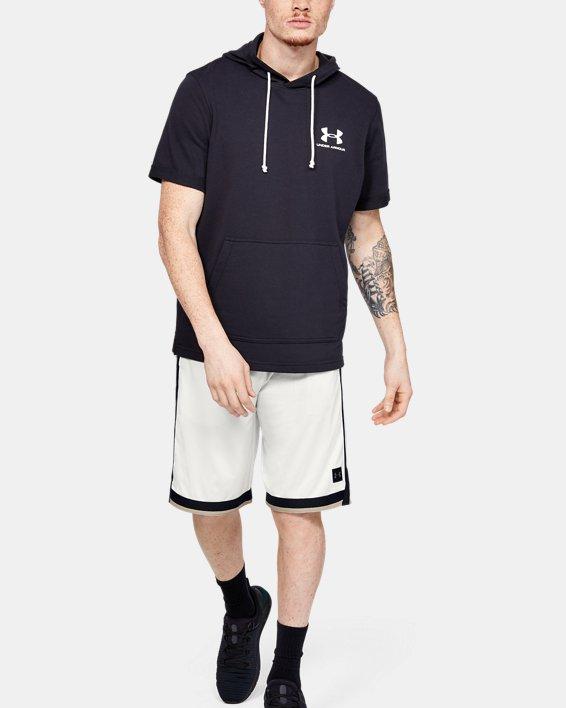 Men's UA Sportstyle Mesh Shorts, White, pdpMainDesktop image number 1