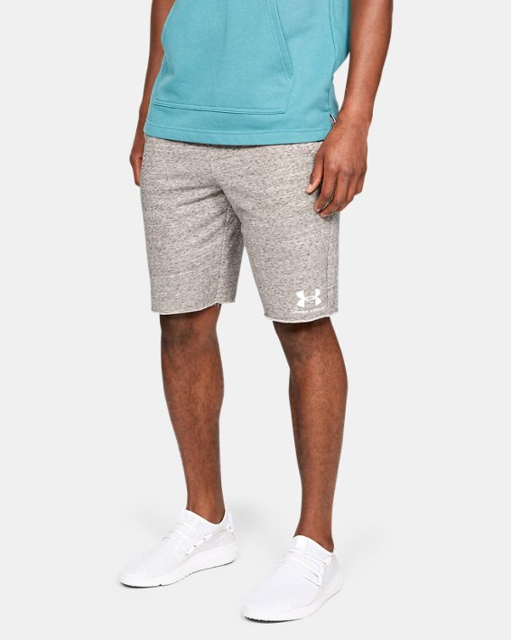 Short UA Sportstyle Terry pour homme, White, pdpMainDesktop image number 0