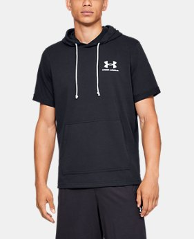 284dbee71 Men's UA Sportstyle Terry Short Sleeve Hoodie 2 Colors Available $45