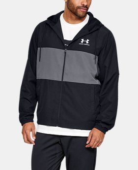 c51bbc03c7f0f New to Outlet Men's UA Sportstyle Wind Jacket 2 Colors Available $45.99
