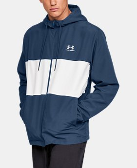 e0e876401 New to Outlet Men's UA Sportstyle Wind Jacket 3 Colors Available $45.99