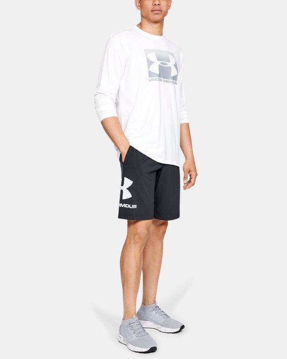 Men's UA Sportstyle Cotton Graphic Shorts, Black, pdpMainDesktop image number 1