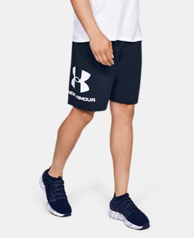 Men's UA Sportstyle Cotton Graphic Shorts  3  Colors Available $30