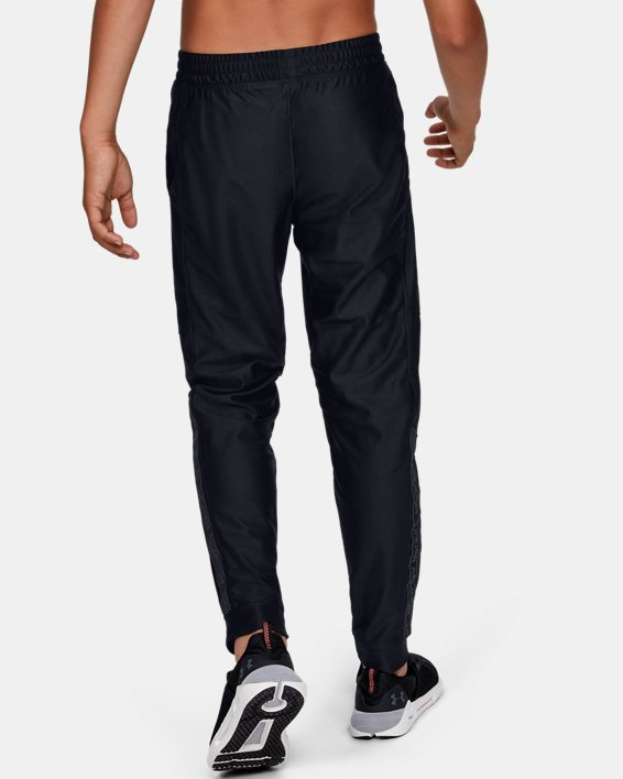 Pantalon UA Prototype pour garçon, Black, pdpMainDesktop image number 3