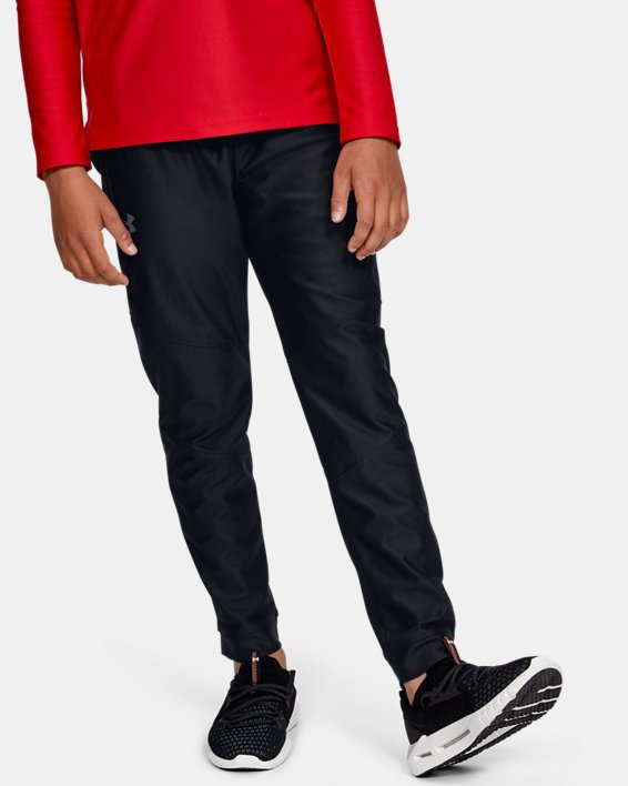 Pantalon UA Prototype pour garçon, Black, pdpMainDesktop image number 2