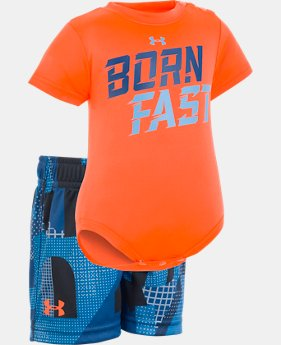 Boys' Newborn UA Born Fast Set   1  Color Available $33