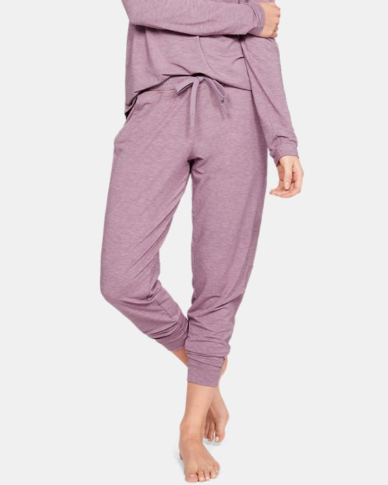 Women's UA RECOVER™ Sleepwear Joggers, Purple, pdpMainDesktop image number 0