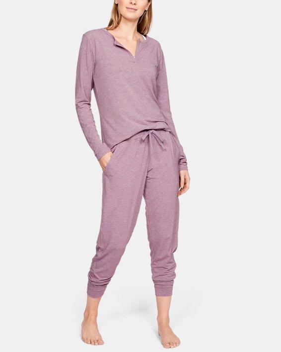 Women's UA RECOVER™ Sleepwear Joggers, Purple, pdpMainDesktop image number 1