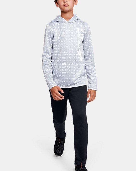 Boys' Armour Fleece® Pants, Black, pdpMainDesktop image number 1