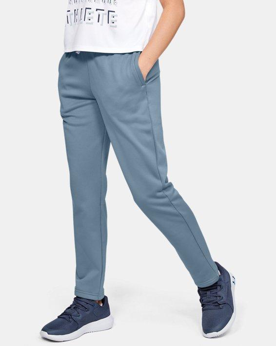 Boys' Armour Fleece® Pants, Gray, pdpMainDesktop image number 0