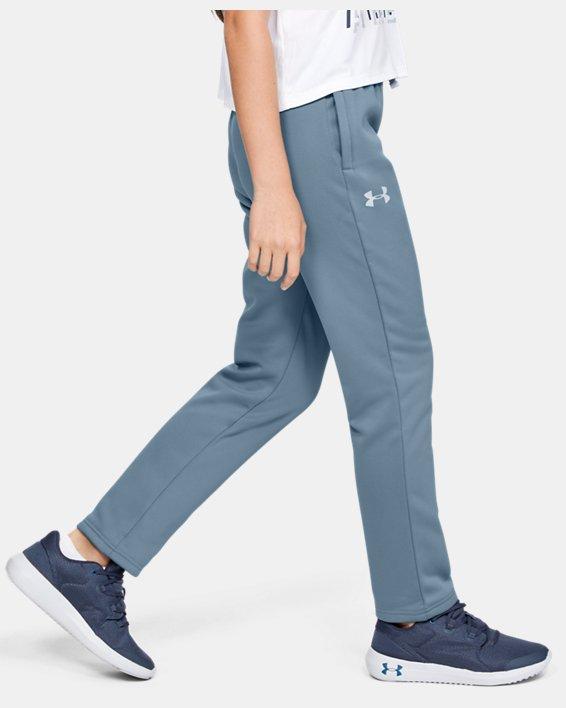 Boys' Armour Fleece® Pants, Gray, pdpMainDesktop image number 3