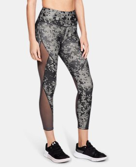 Women's HeatGear® Armour Print Ankle Crop  1  Color Available $65