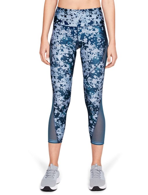Under Armour HeatGear Armour Ankle Crop Compression Leggings Women 1309628-001