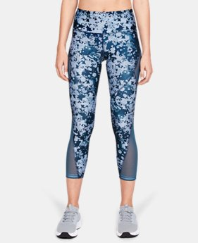 Women's HeatGear® Armour Print Ankle Crop  1  Color Available $55