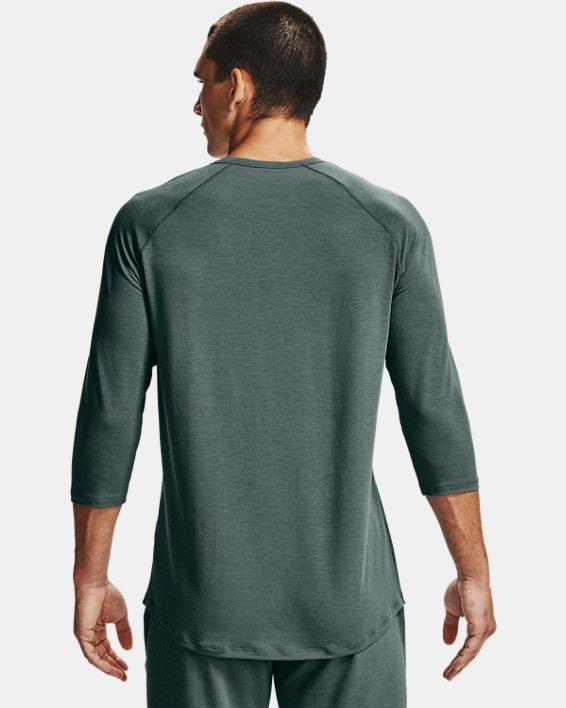 Men's UA RECOVER™ Sleepwear Henley, Blue, pdpMainDesktop image number 1