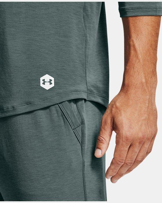 Men's UA RECOVER™ Sleepwear Henley, Blue, pdpMainDesktop image number 5