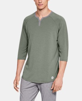 New Arrival Men's Athlete Recovery Sleepwear™ Henley  2  Colors Available $80