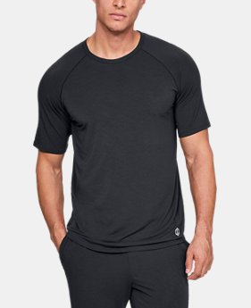 Best Seller Men's Athlete Recovery Sleepwear™ Short Sleeve Crew  1  Color Available $55
