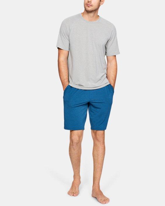Men's UA RUSH™ Sleepwear Short Sleeve Crew, Gray, pdpMainDesktop image number 1