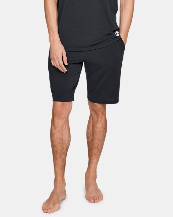 Men's UA RECOVER™ Sleepwear Shorts, Black, pdpMainDesktop image number 0