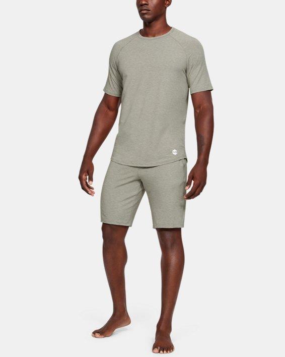 Men's UA RECOVER™ Sleepwear Shorts, Green, pdpMainDesktop image number 1