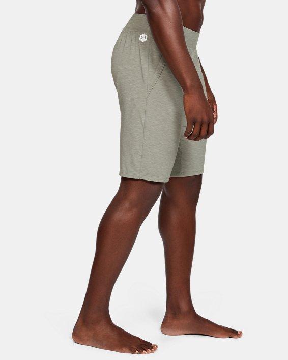 Men's UA RECOVER™ Sleepwear Shorts, Green, pdpMainDesktop image number 3