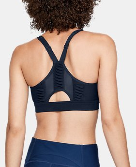 Women's UA Vanish Mid Pleated Sports Bra  1  Color Available $70