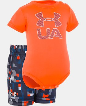 New Arrival Boys' Newborn UA Stacked Set FREE U.S. SHIPPING 1  Color Available $33
