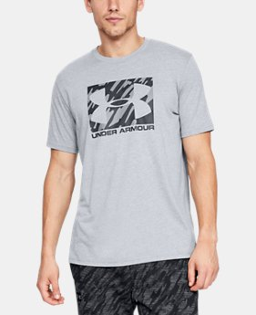 Best Seller  Men's UA Boxed Sportstyle Short Sleeve T-Shirt  2  Colors Available $30