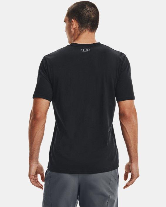 Men's UA Team Issue Wordmark Short Sleeve, Black, pdpMainDesktop image number 2