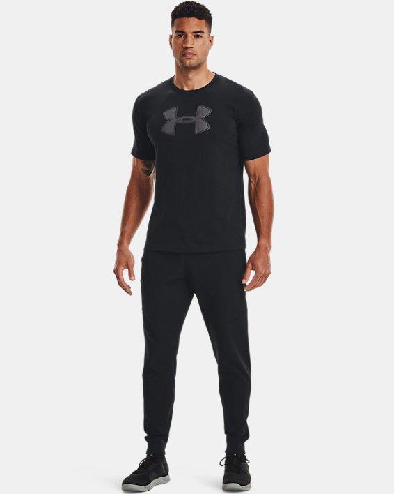 Men's UA Big Logo Short Sleeve T-Shirt, Black, pdpMainDesktop image number 1
