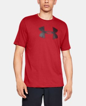 Best Seller Men's UA Big Logo Short Sleeve T-Shirt  1  Color Available $25