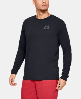 455f18b94 Men's UA Sportstyle Left Chest Long Sleeve 2 Colors Available $30
