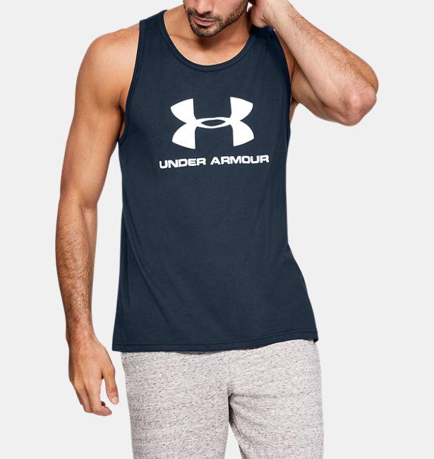 Imperialismo neumático diluido  Men's UA Sportstyle Logo Tank|Under Armour HK