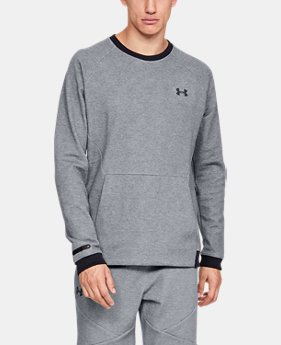 New Arrival Men's UA Unstoppable Double Knit Crew  1  Color Available $60