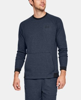 Men's UA Unstoppable Double Knit Crew  3  Colors Available $75