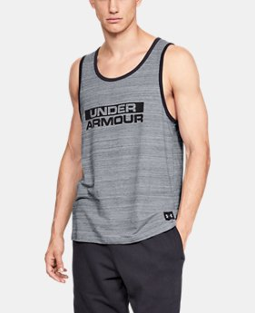 Men's UA Sportstyle Cotton Tank  4  Colors Available $25