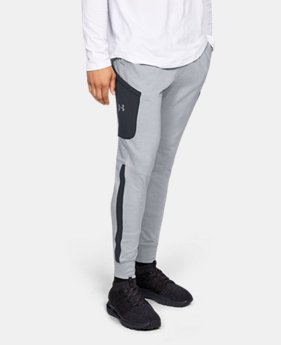 Men's UA Microthread Terry Joggers  1  Color Available $85