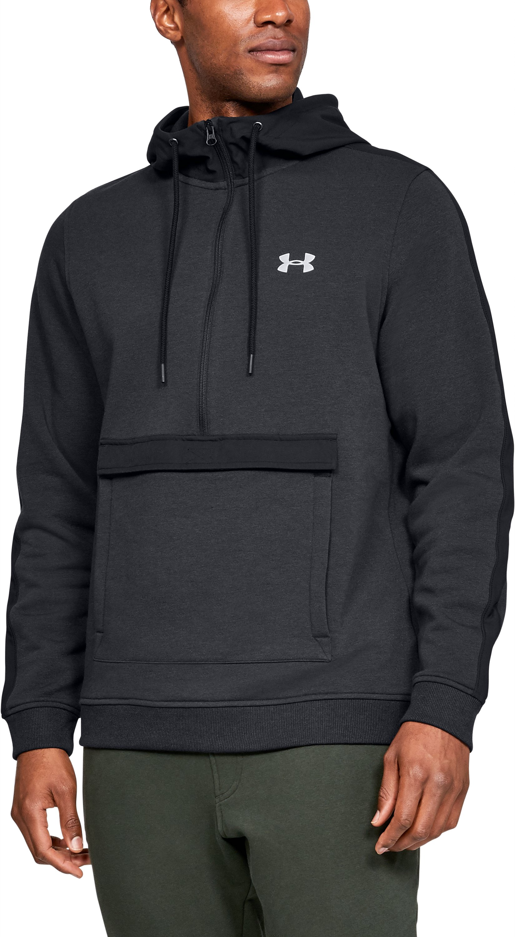 Men's UA Microthread Fleece Anorak Jacket 1 Color $80.00