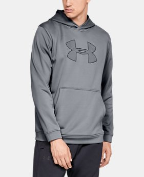 Best Seller Men's UA Big Logo Hoodie  2  Colors Available $55