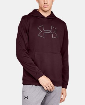 Best Seller Men's UA Big Logo Hoodie  6  Colors Available $55