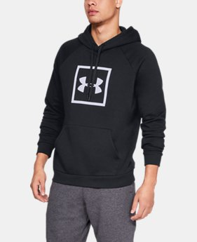 Men's UA Rival Fleece Logo Hoodie  5  Colors Available $45