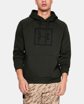 New Arrival  Men's UA Rival Fleece Logo Hoodie  1  Color Available $60