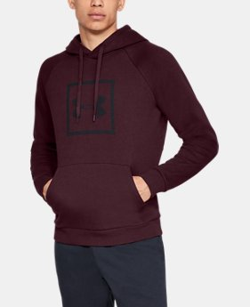 Men's UA Rival Fleece Logo Hoodie LIMITED TIME ONLY 1  Color Available $29.99